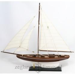Model jachtu żaglowego wys. 50 cm