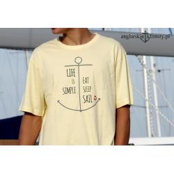 Koszulka męska LIFE is SIMPLE - edycja letnia :-)