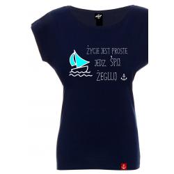Koszulka damska Żegluj
