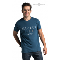 Koszulka męska KAPITAN z imieniem