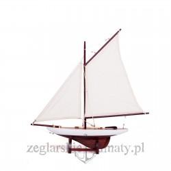 Jacht gaflowy 45cm