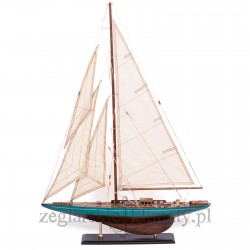 Duży model jachtu