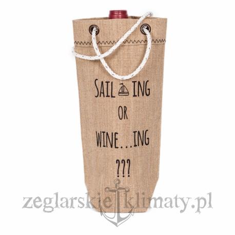 Worek na wino SAILING