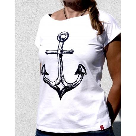 Koszulka damska z KOTWICĄ