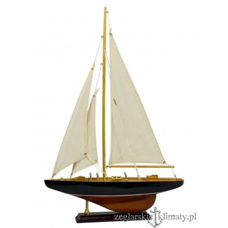 Mały model żaglówki wys. 46cm!