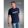 Koszulka męska premium BORN 2 SAIL