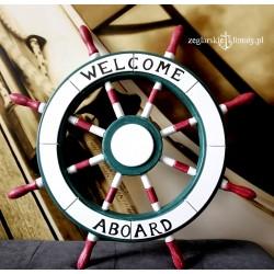 Koło sterowe WELCOME ABOARD 62cm
