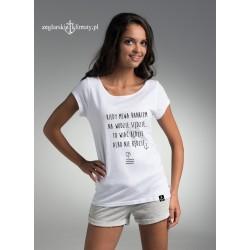 Koszulka damska Wiać będzie albo nie będzie