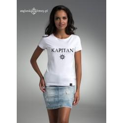 Koszulka damska biała KAPITAN