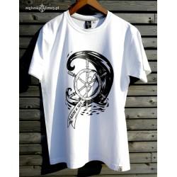 Koszulka premium męska LOST AT SEA - 3D