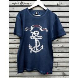Koszulka męska vintage BORN to SAIL