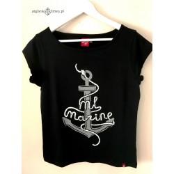 Koszulka damska prima ML MARINE - 3D