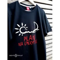 Koszulka męska premium PLAN na EMERYTURĘ