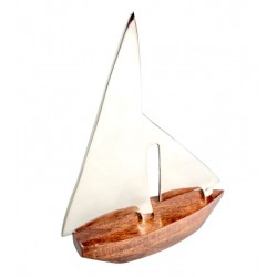 Jacht Majestic - drewno i aluminium