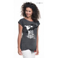 Koszulka damska vintage SEA WOLF