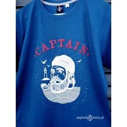 Koszulka męska melange CAPTAIN