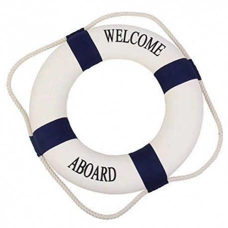 Koło ratunkowe Welcome Aboard