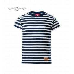 Koszulka dziecięca w marynarskie paski :-)