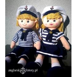 Lalka Kapitan i Kapitanka :-)