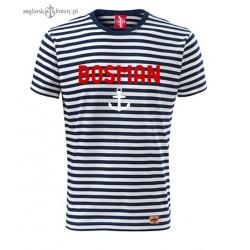 Koszulka unisex w marynarskie paski BOSMAN