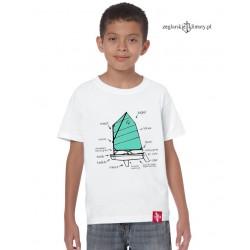 Koszulka dziecięca instruktażowa OPTIMIST :-)