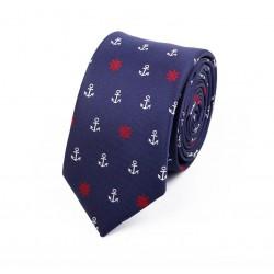 Krawat w kotwiczki i koła sterowe :-)