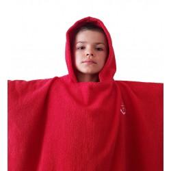 Poncho - ręcznik z kapturem (dzieci ok 7-12 lat)