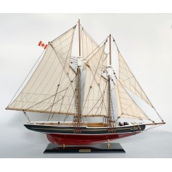 Model szkunera BLUENOSE - dł. 80cm!
