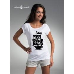 Koszulka damska biała Black Pearl :-)