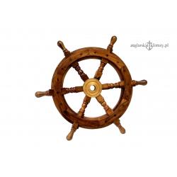 Drewniane koło sterowe, palisander -38cm