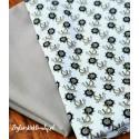 Materiał włoska bawełna w kotwice (+ stery)