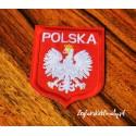 Aplikacja (naszywka) - haft godło Polski (termo)