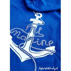 Bluza damska Sailing Team ML Marine (niebieska)