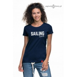 Koszulka damska premium strech SAILING TEAM