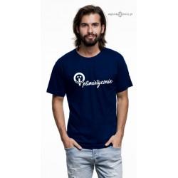 Koszulka męska premium strech Optimistycznie :-)