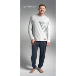 Ciepła piżama męska BOAT