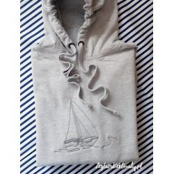 Bluza premium granatowa - haft BOAT