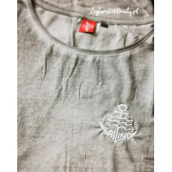 Koszulka damska vintage - haft SAILING