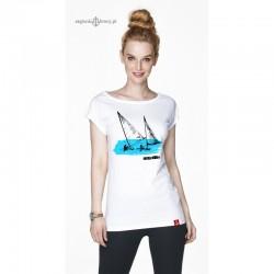 Koszulka damska biała REGATTA
