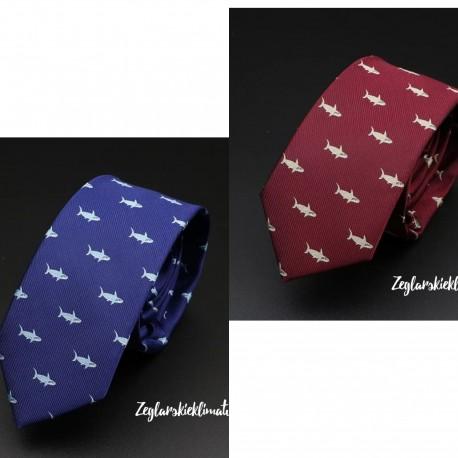 Krawat SHARK - 2 kolory :-)